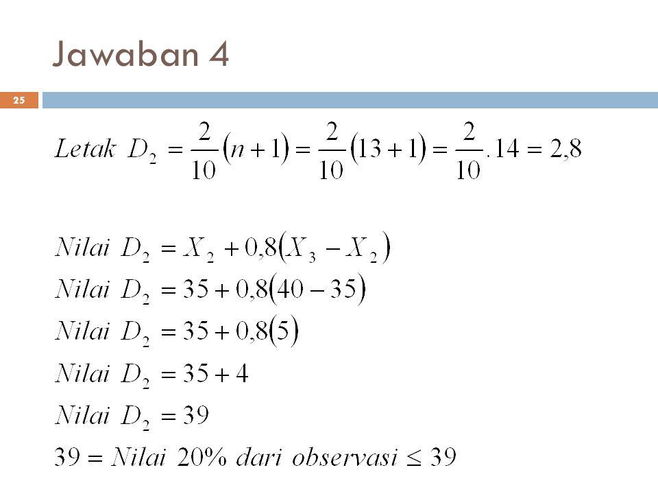 Jawaban 4 25