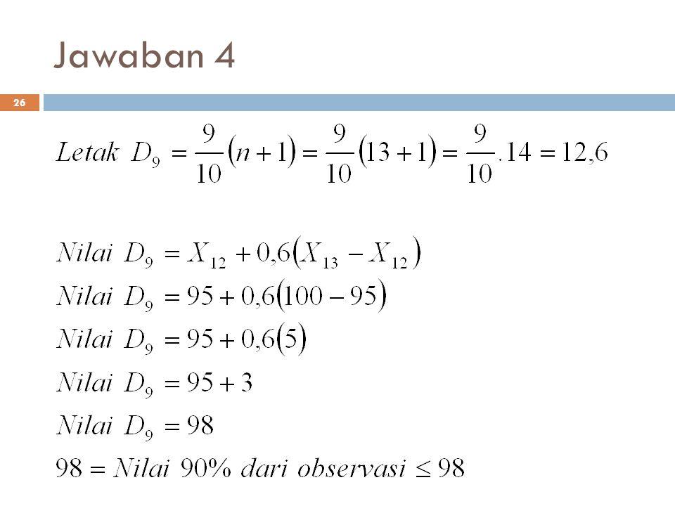 Jawaban 4 26