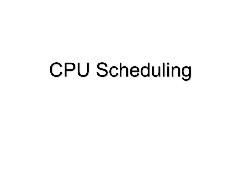 Contoh SJF - Preemptive Process Arrival Time Burst Time Process Arrival Time Burst Time P 1 0.07 P 2 2.04 P 2 2.04 P 3 4.01 P 3 4.01 P 4 5.04 P 4 5.04 SJF (preemptive)SJF (preemptive) Average waiting time = (9 + 1 + 0 +2)/4 = 3Average waiting time = (9 + 1 + 0 +2)/4 = 3 P1P1 P3P3 P2P2 42 11 0 P4P4 57 P2P2 P1P1 16