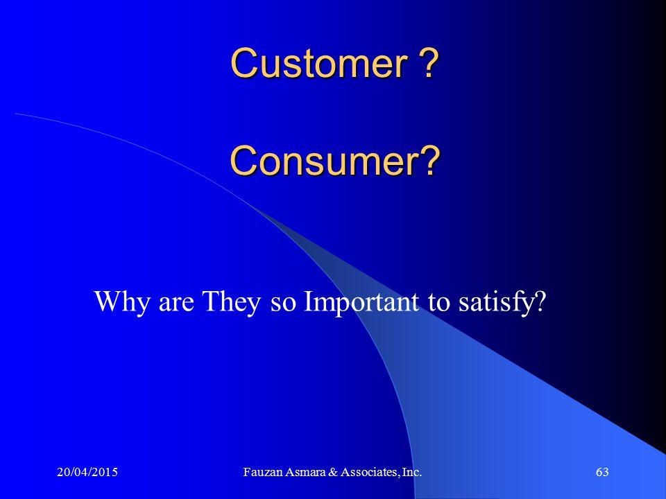 Apa itu pelanggan (customer)? Apa itu konsumen (consumer)? Adakah perbedaan diantara keduanya? Apa itu kepuasan pelanggan? Pentingnya kepuasan pelangg