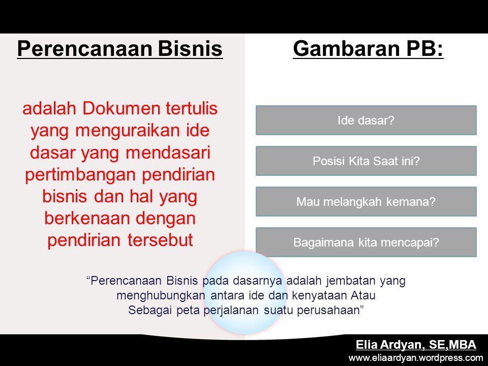 MANAGEMENT PLAN Menggambarkan struktur organisasi perusahaan Elia Ardyan, SE,MBA www.eliaardyan.wordpress.com