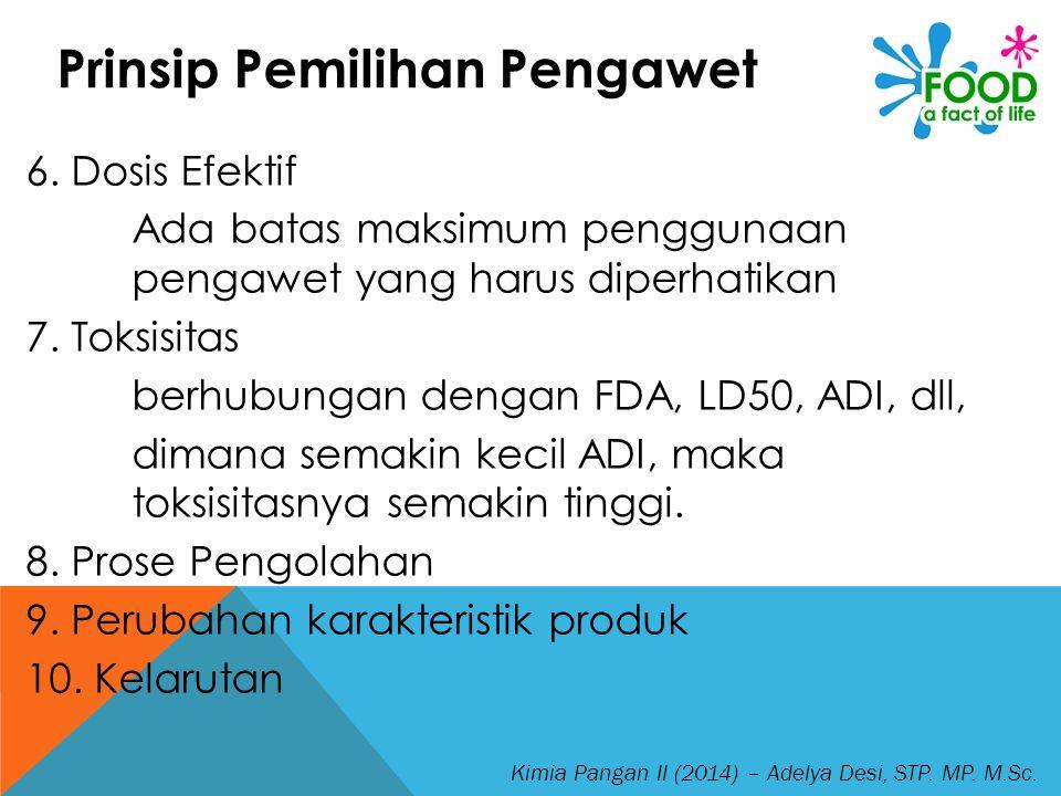 Kimia Pangan II (2014) – Adelya Desi, STP.MP. M.Sc.