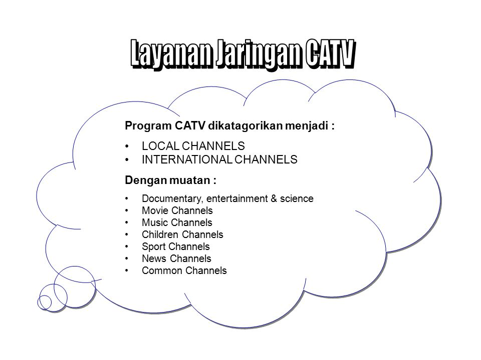 Traditional cable TV distribution with other video services e.g.