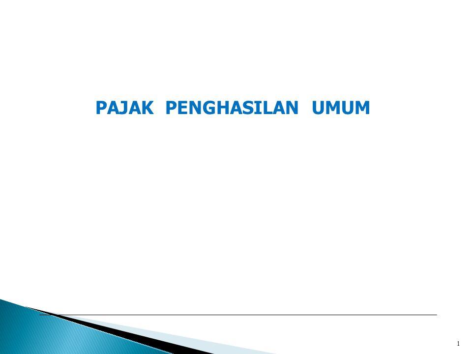 Rika Lidyah,S.E.,M.Si2 Definisi Pajak Penghasilan : Pajak yang dikenakan terhadap Subjek Pajak atas penghasilan yang diterima atau diperoleh dalam tahun pajak atau dalam bagian tahun pajak