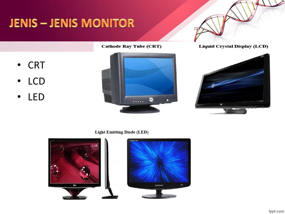 CRT LCD LED