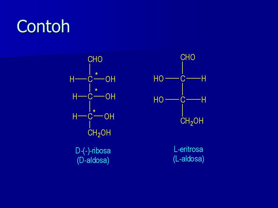 Semua monosakarida adalah Gula Pereduksi Benedict Fehling