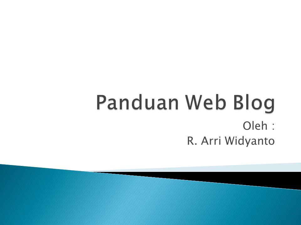  Title diisi dengan Judul Tulisan, Setelah selesai menulis isi Blog Klik PUBLISH !
