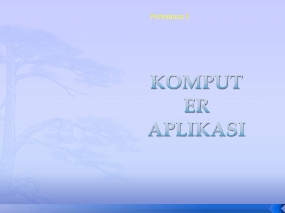 Menggunakan fasilitas Borkmark: 1.Seleksi teks. 2.