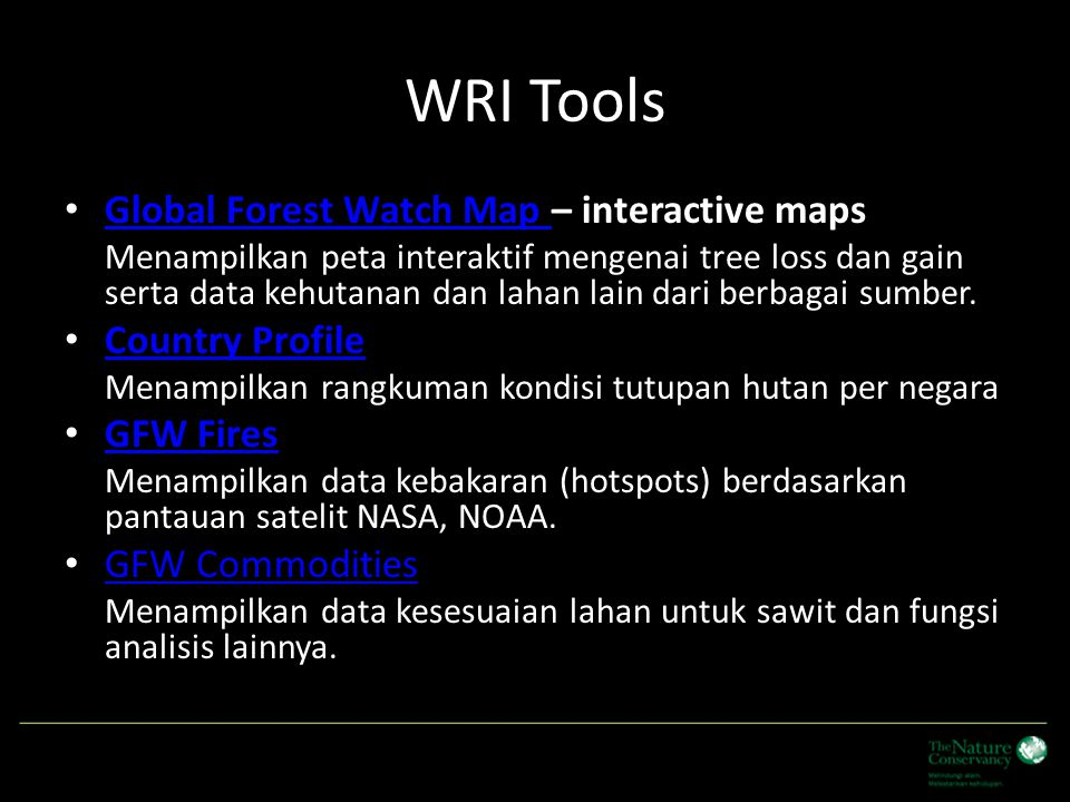 WRI Tools Global Forest Watch Map – interactive maps Global Forest Watch Map – interactive maps Global Forest Watch Map Global Forest Watch Map Menamp