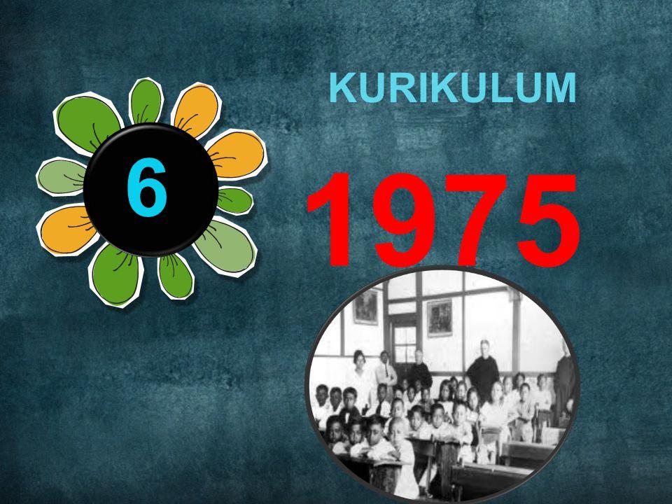 TAHUN 5 1974 MASIH MENGGUNAKAN KURIKULUM 1968