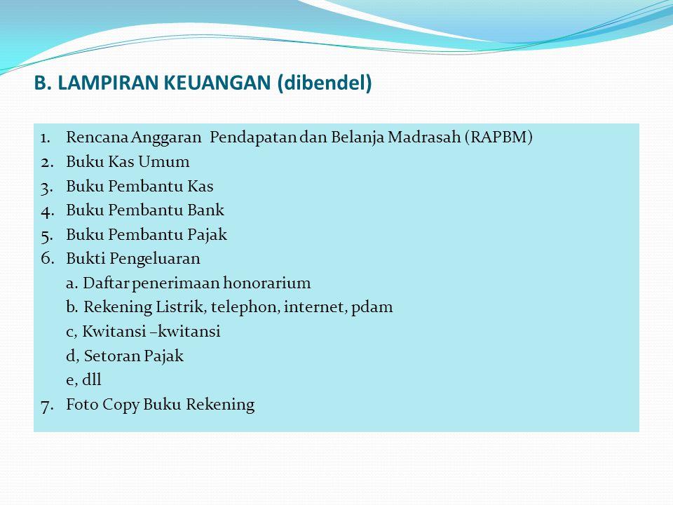LAMPIRAN KEUANGAN 1.