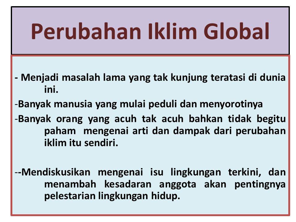 . Undang-Undang Mitigasi dan Adaptasi Perubahan Iklim berfungsi untuk menciptakan suatu kepastian hukum, sehingga negara maju dan organisasi internasional tidak ragu dalam memberikan bantuan finansial berupa hibah ke Indonesia.