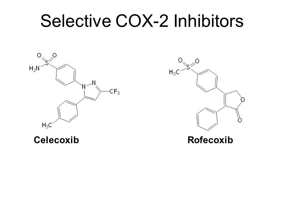 CelecoxibRofecoxib Selective COX-2 Inhibitors