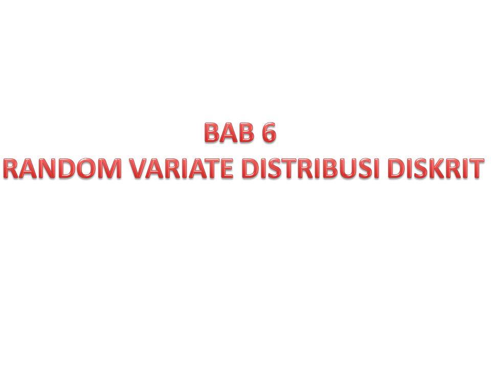 6.3.Metode Transformasi dan Distribusi Binomial.