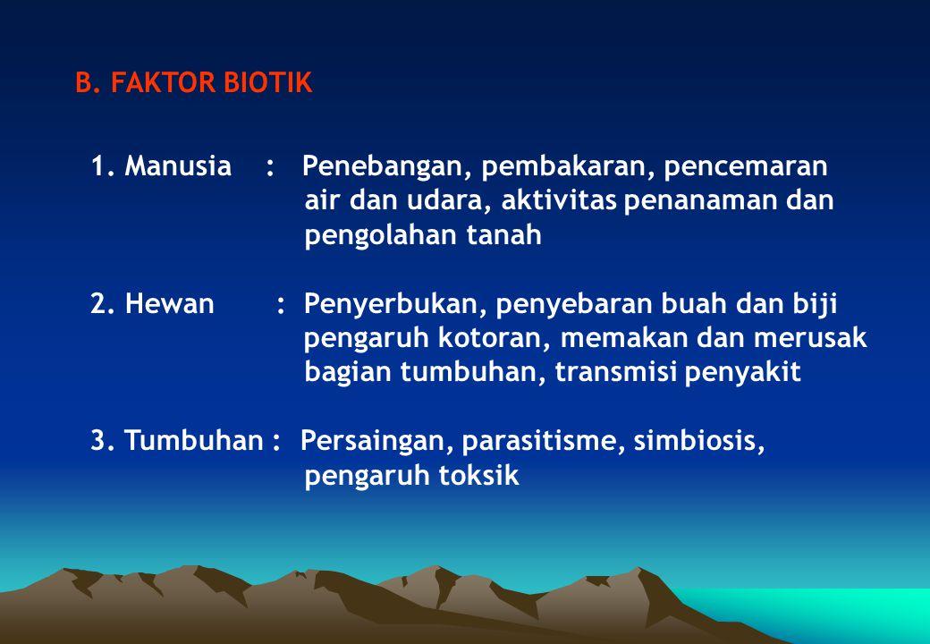 Klasifikasi iklim yang paling banyak digunakan di Indonesia adalah klasifikasi tipe hujan oleh Schmidt dan Fergusson (1951), dimana : 1.