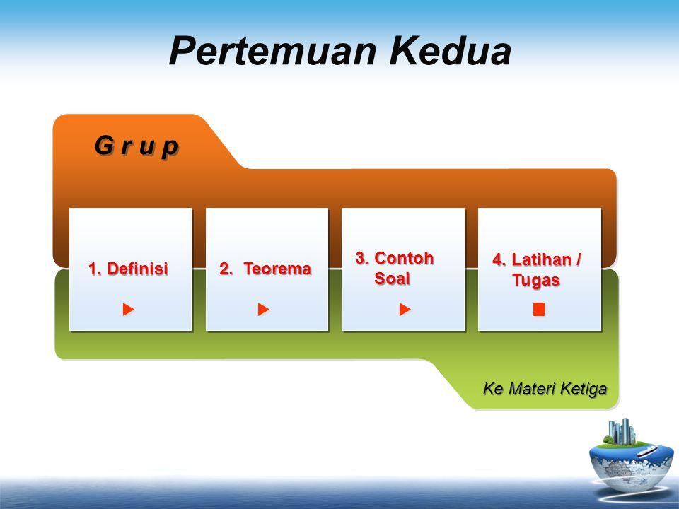 Latihan Soal 1.Himpunan bilangan rasional terhadap operasi perkalian merupakan suatu grup .