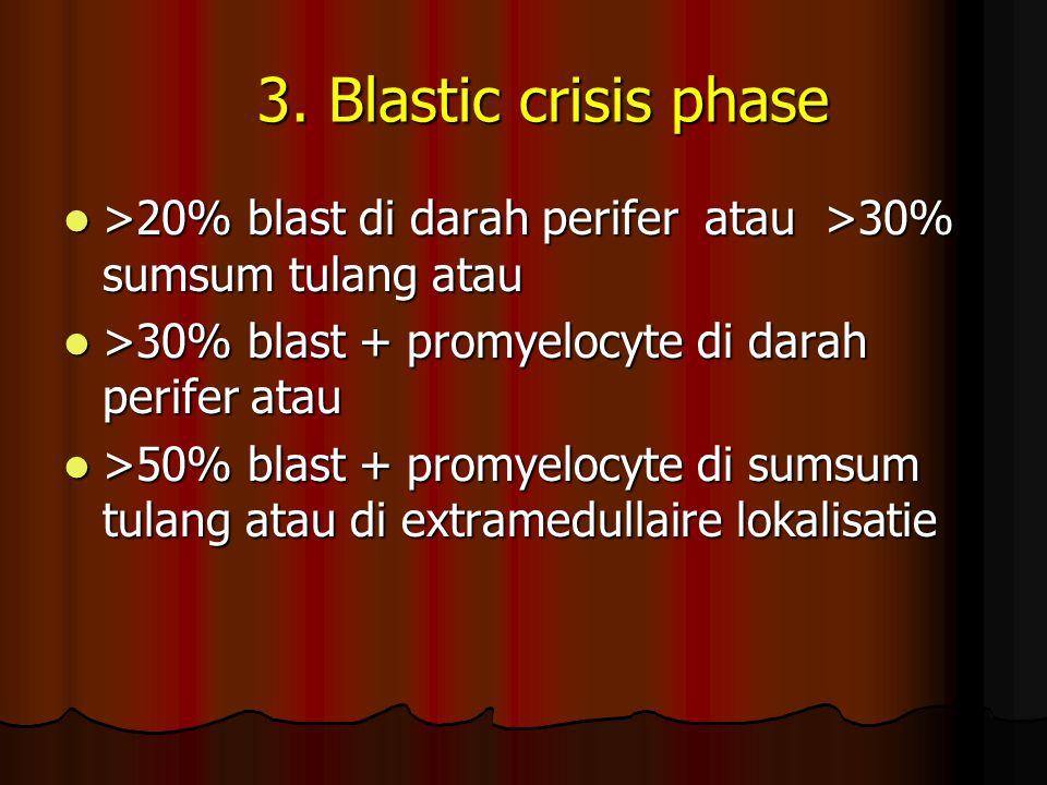 3.Blastic crisis phase 3.