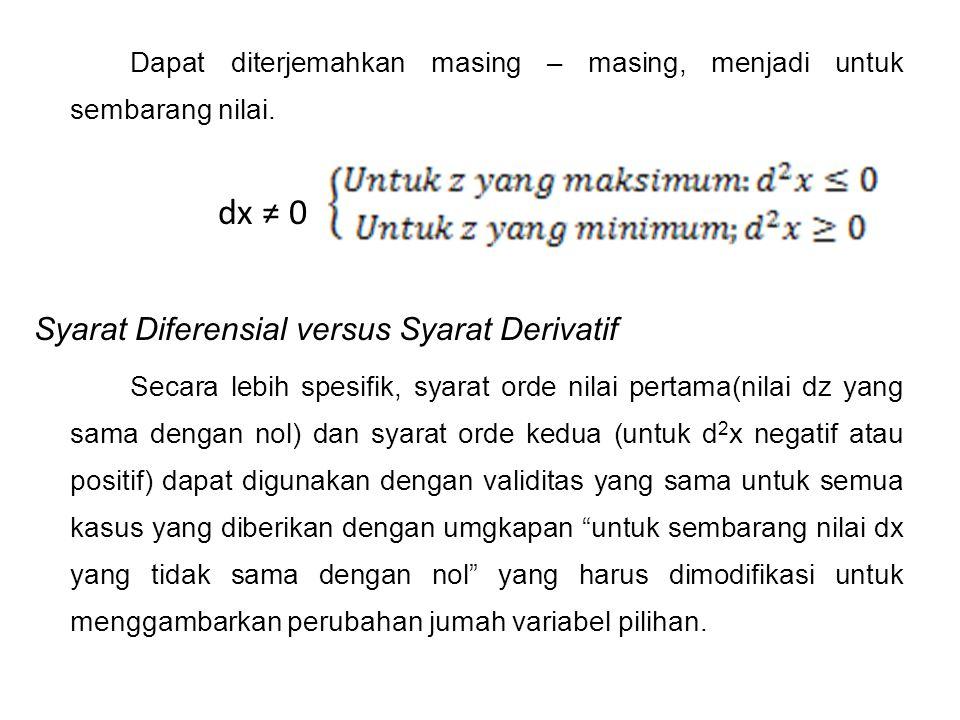 Syarat Orde 1 Suatu fungsi 2 peubah memiliki nilai maksimum relatif pd titik (xo, yo) jika terdapat lingkaran berpusat di (xo, yo) s.d.h utk setiap (x, y) di dlm lingkaran dan f memiliki nilai maksimum mutlak di (xo, yo) bila utk semua titik (x, y) di domain f Jika f memiliki nilai ekstrim relatif pada titik (xo, yo) dan bila turunan parsialnya ada pada titik tsb maka fx (xo, yo ) = 0 dan f y (xo, yo ) = 0 11.2 Nilai Ekstrem fungsi dua variabel
