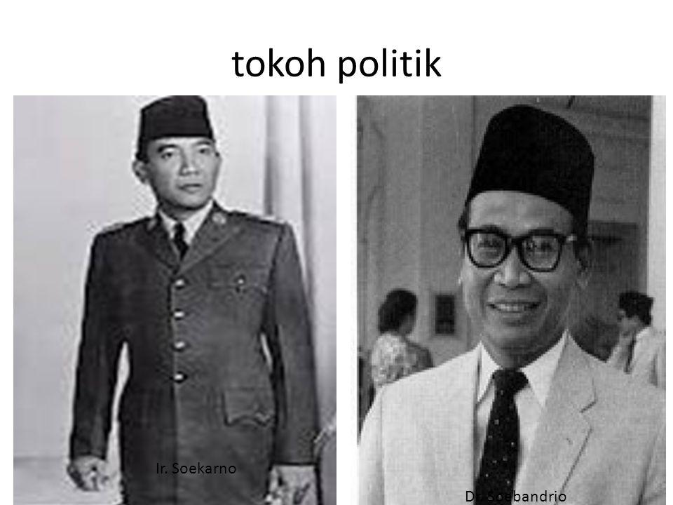 Tokoh Politik Mr. Wilopo Mr. Ali Sastroamidjoyo