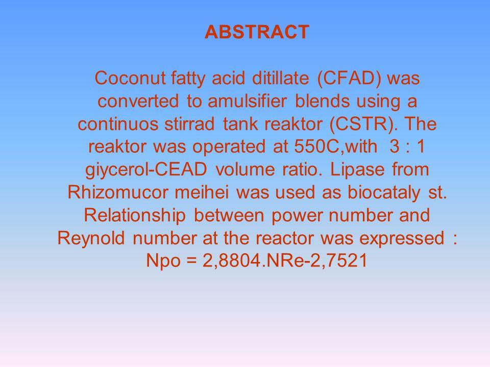 PENDAHULUAN Emulsi bahan pangan yang berupa campuran antara gliserol (MAG) dan diasil gliserol 75% (Garcia et al.,1996).