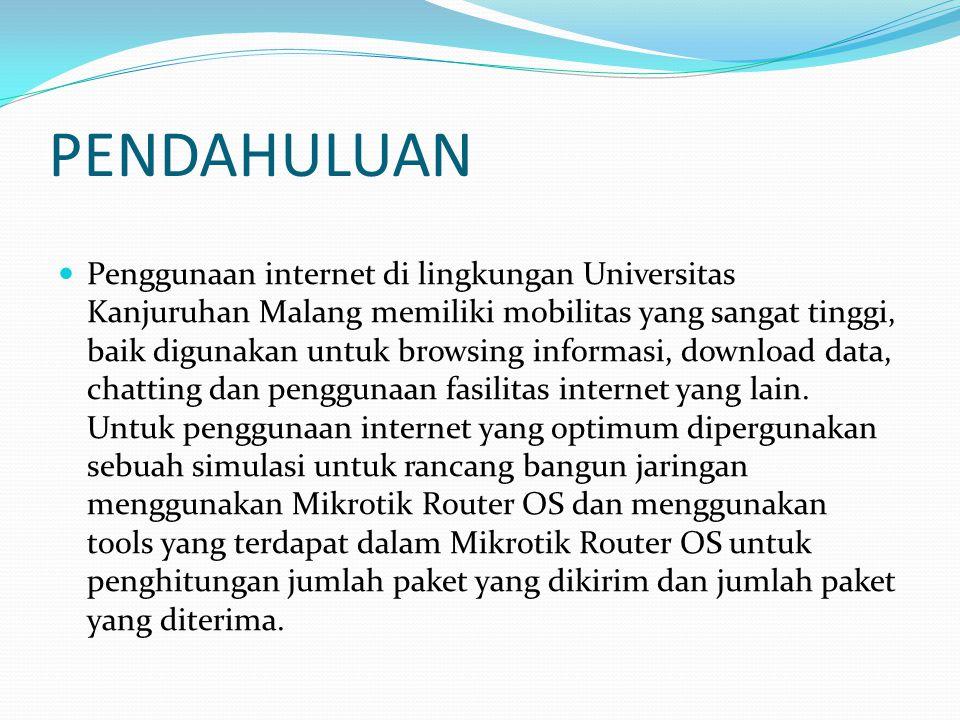 Bandwidth Bandwidth adalah kemampuan maksimum dari pipa untuk dialiri data informasi dalam satu detik, dengan media transmisi wired atau menggunakan wireless.