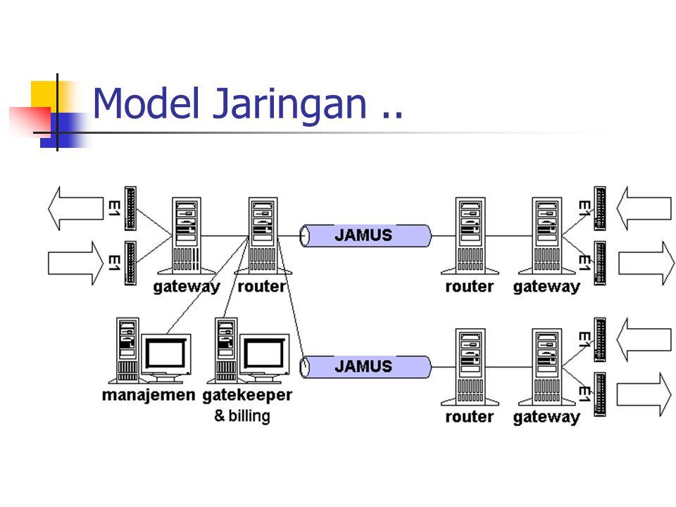 Model Jaringan..