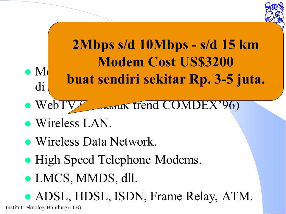 Institut Teknologi Bandung (ITB) Network Akses.