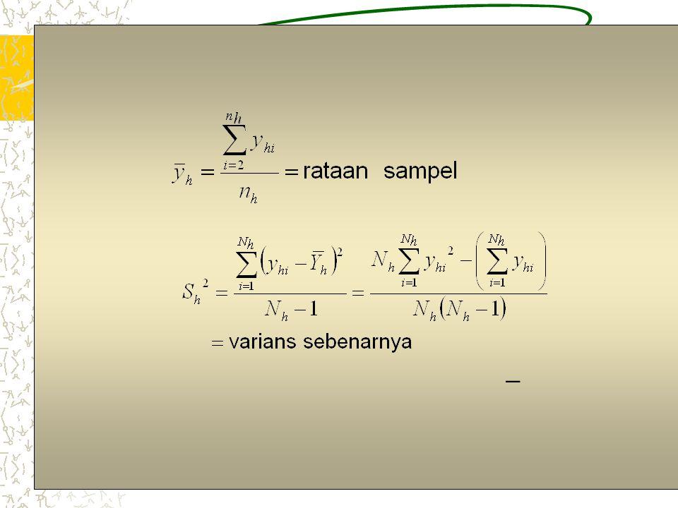 4 = ?; = ? Taksiran Parameter