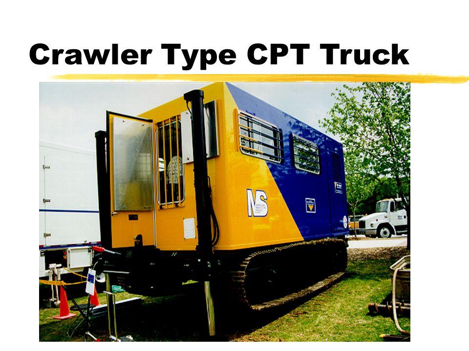 Crawler Type CPT Truck