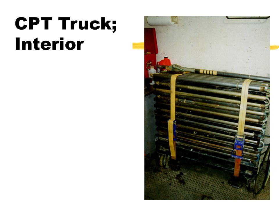 CPT Truck; Interior