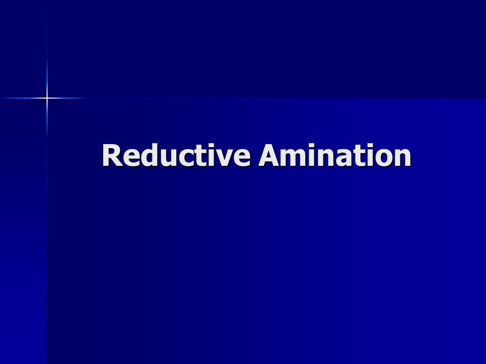 Reductive Amination