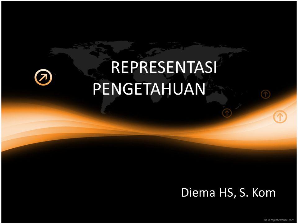 REPRESENTASI PENGETAHUAN Diema HS, S. Kom