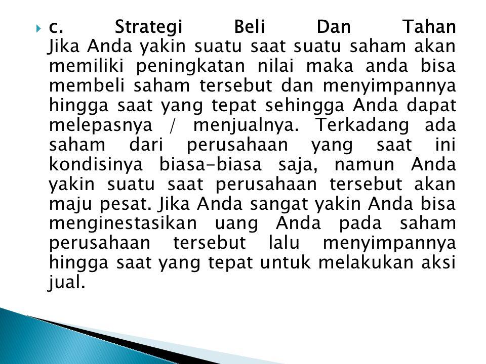  Ngaisah dan Nur Indriantoro, (2000), Analisis Muatan Informasi Pada Laba, Modal Kerja dari Operasi, dan Arus Kas dari Operasi bagi Investor di Pasar Modal , Media Ekonomi 6, 651-665 : laba akuntansi, modal kerja dan arus kas dari operasi tidak mempunyai muatan informasi yang bisa memberikan tambahan informasi bagi investor di pasar modal Indonesia.