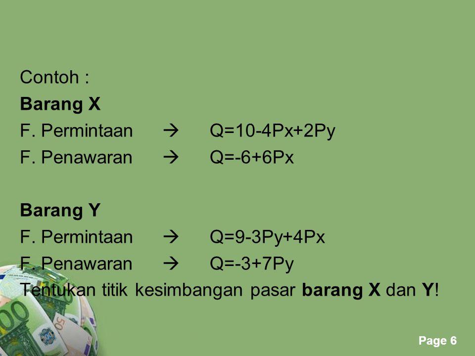 Powerpoint Templates Page 7 FUNGSI BIAYA o Biaya Tetap Fc = k(k=konstanta) o Biaya VariabelVc = kQ o Biaya TotalTc = Fc + Vc FUNGSI PENERIMAAN Revenue(penerimaan) R = Q.P (biasanya dinyatakan dalam Q) FUNGSI BIAYA DAN FUNGSI PENERIMAAN