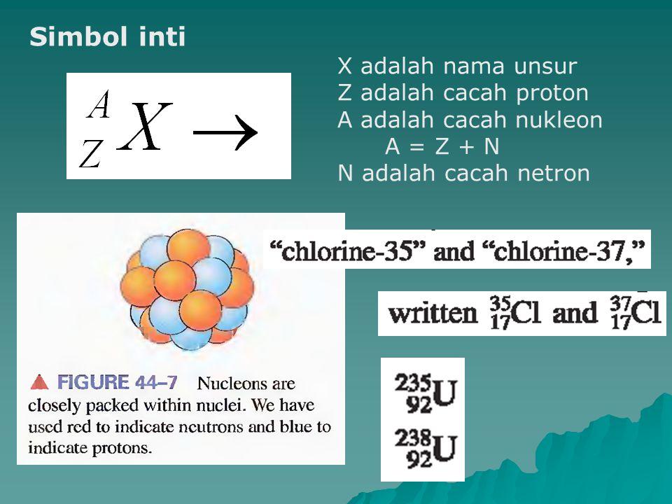 Transmutasi nitrogen ditembak dengan partikel  (E k  12,3 10 13 J), satu proton nitrogen terlempar sebagai emisi, sisa inti atom nitrogen kurang satu positif dan berubah menjadi atom karbon.