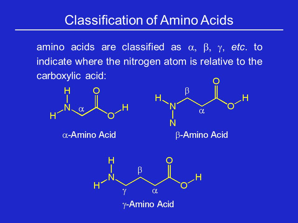  Amino Acids are Most Ubiquitous in Nature