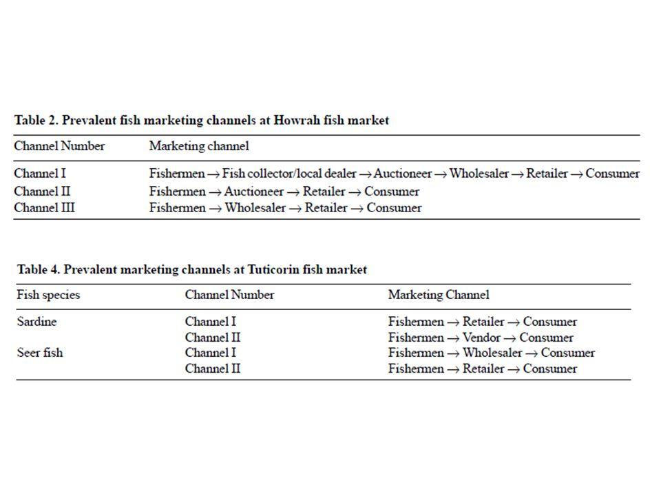 MARKETING CHANNELS OF MARINE PRAWNS IN RATNAGIRI, INDIA Ag.