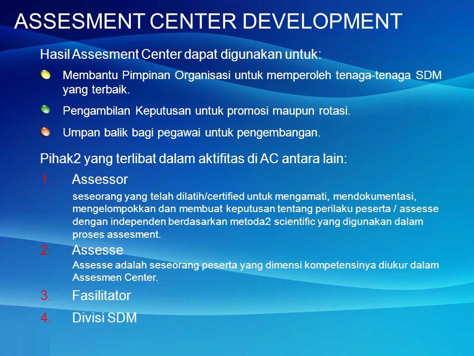 Membantu Pimpinan Organisasi untuk memperoleh tenaga-tenaga SDM yang terbaik.