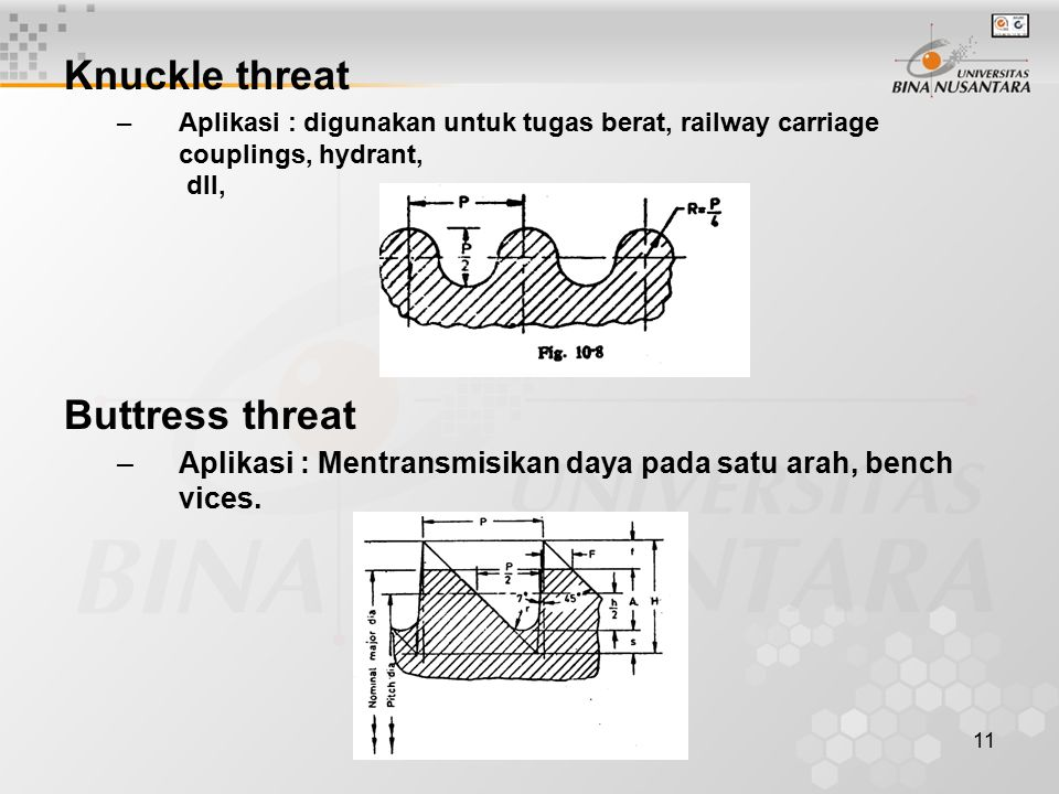 12 Metric threat –Aplikasi : general purpose