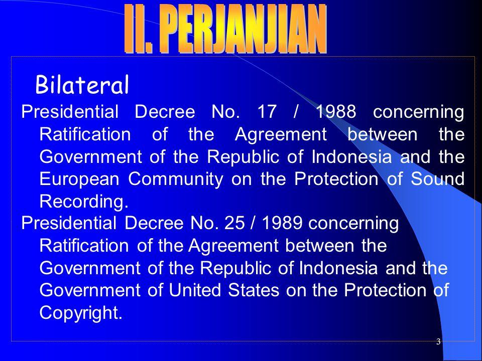 4 Bilateral Presidential Decree No.