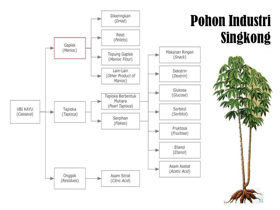 Pohon Industri Singkong 12