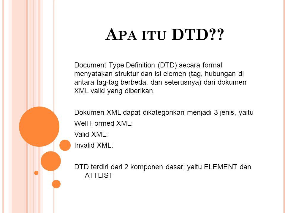 A PA ITU DTD?.