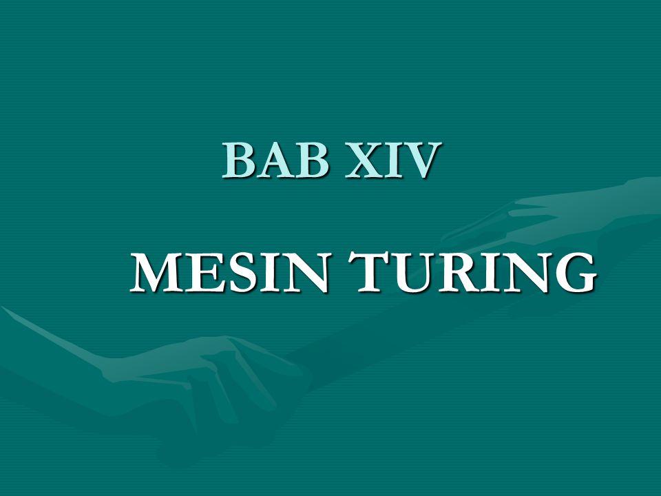 BAB XIV MESIN TURING