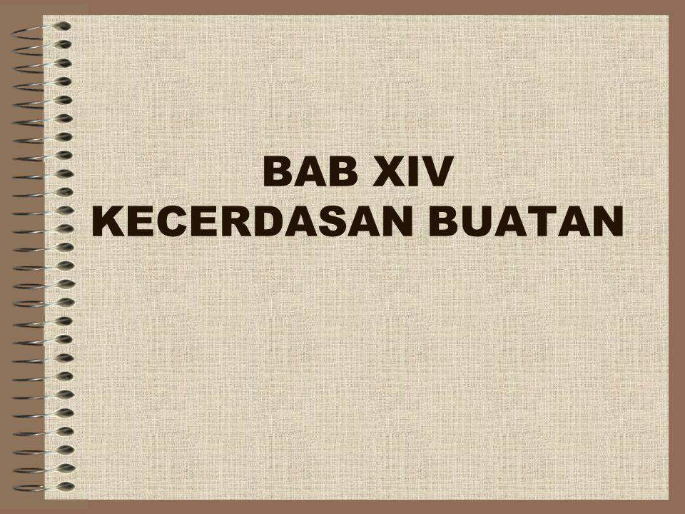 BAB XIV KECERDASAN BUATAN