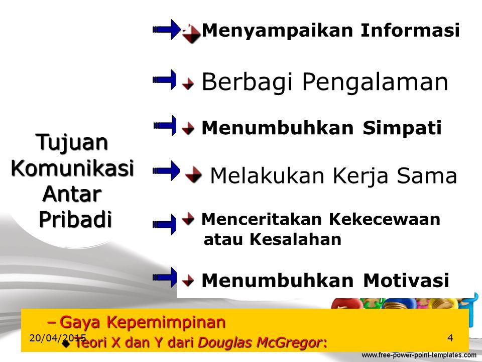 Uraian Komunikasi Antarpribadi Komunikasi Bisnis  Orientasi/tujuan  Pokok bahasan  Bahasa yang digunakan digunakan  Format penulisan  Gaya penuli