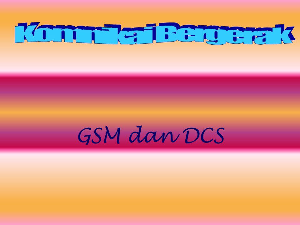 GSM dan DCS