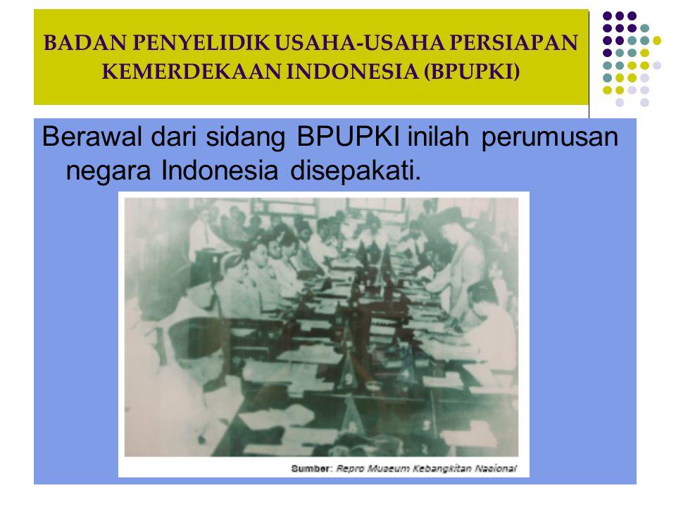 PERBEDAAN DAN KESEPAKATAN YANG MUNCUL DALAM SIDANG BPUPKI Perbedaan pendapat yang muncul dalam sidang BPUPKI di antaranya mengenai falsafah negara Indonesia yang akan dibentuk.
