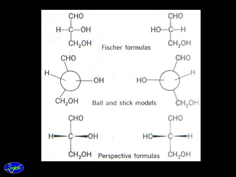 5.Struktur kimia monosakarida yang memiliki lebih dari 4 atom karbon (C) dapat disajikan dengan model
