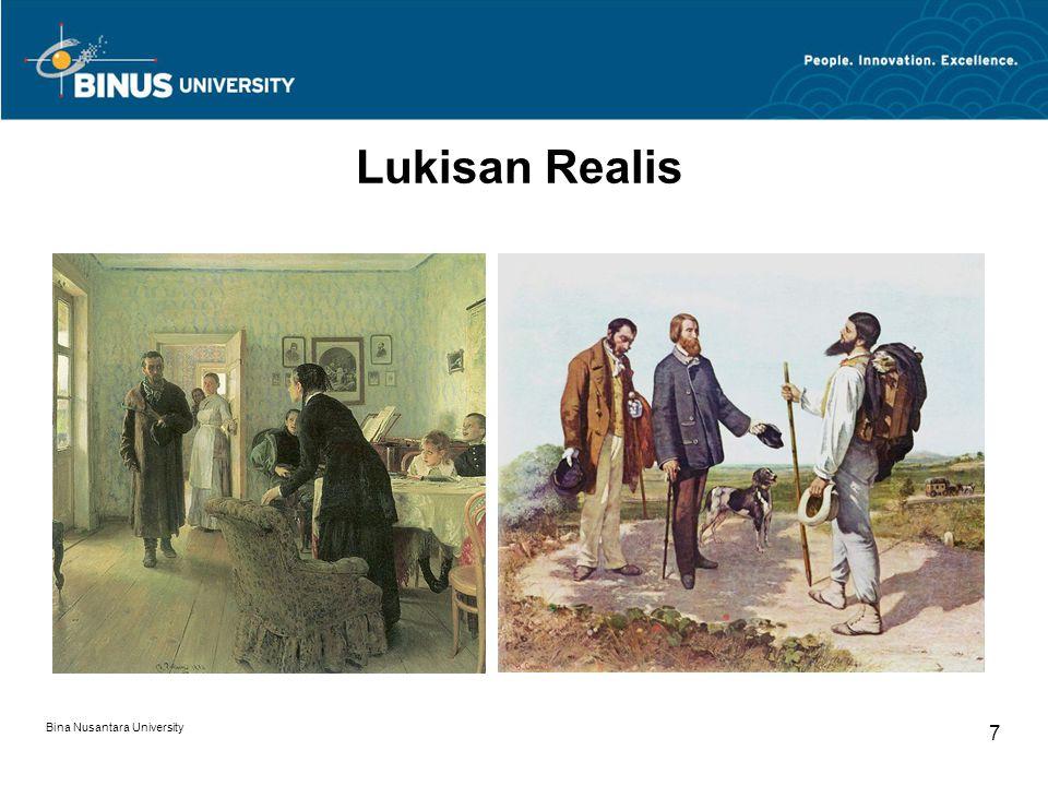 Bina Nusantara University 7 Lukisan Realis