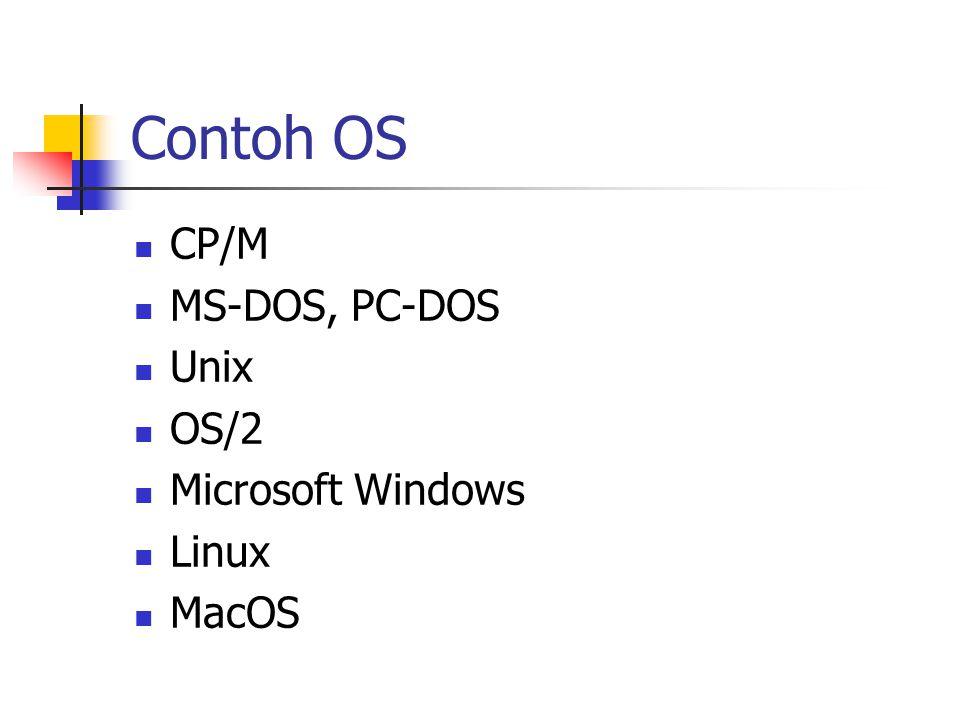 Interface Environment, shell, interface Cara berinteraksi dengan user: Command Line Interface (CLI) Graphical User Interface (GUI)